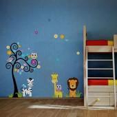 Наклейки на стену для детской