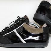 Кожаные спортивные туфли Floris Van Bommel. Размер 43