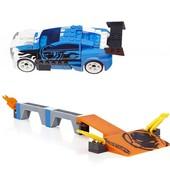 Mega Bloks Конструктор гоночный автомобиль с пусковым устройством Hot Wheels drift rail grind