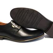 Туфли YDG, р. 42.44.45, натур. кожа, код gavk-1520