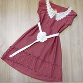 распродажа! Детское платье р.122-146 Жемчужное