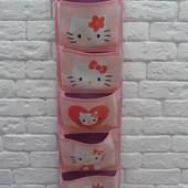 Органайзер-карманы для хранения вещей Hello Kitty