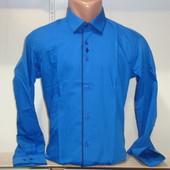 Мужская рубашка с длинным рукавом Passero, Турция. 3 цвета