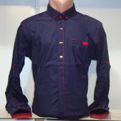 Мужская рубашка с длинным рукавом Punto, Италия. Разные цвета.