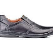 Туфли Мужские Кожаные (006ч)