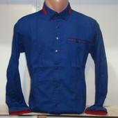Мужская рубашка на кнопках и пуговицах Gport, Турция. Разные цвета.