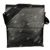 Современная мужская сумка черного цвета (54171)