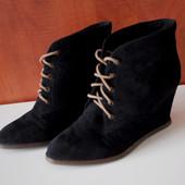 Замшевые ботинки Pull&bear / Pull and bear 38 размер демисезон