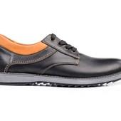 Туфли Мужские Кожаные (127ч)