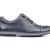 Туфли Мужские Кожаные (152с)