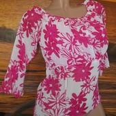 Блузка 36-38р приятная ткань