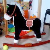 Лошадка музыкальная, каталка