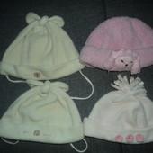фирменные шапочки 2-5 лет