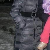 Пуховик женский размер М пуховое пальто