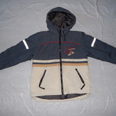 р. 134-140, Термокуртка зимняя, Lassie by Reima, Финляндия, теплая лыжная зимняя куртка