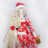 Кукла Тильда Снегурочка