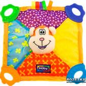 Мягкая игрушка с прорезывателем Обнимашка- Обезьянка, Nuby