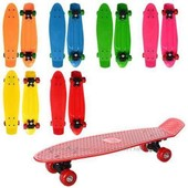 Скейт MS 0847 Пенни борд ( Penny Board) яркие цвета