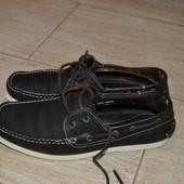 Next 44р мокасины кожаные, туфли