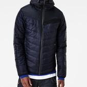 Куртка с декоративной змейкой 379синий