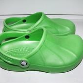 Кроксы crocs р.2-4 стелька 21 см