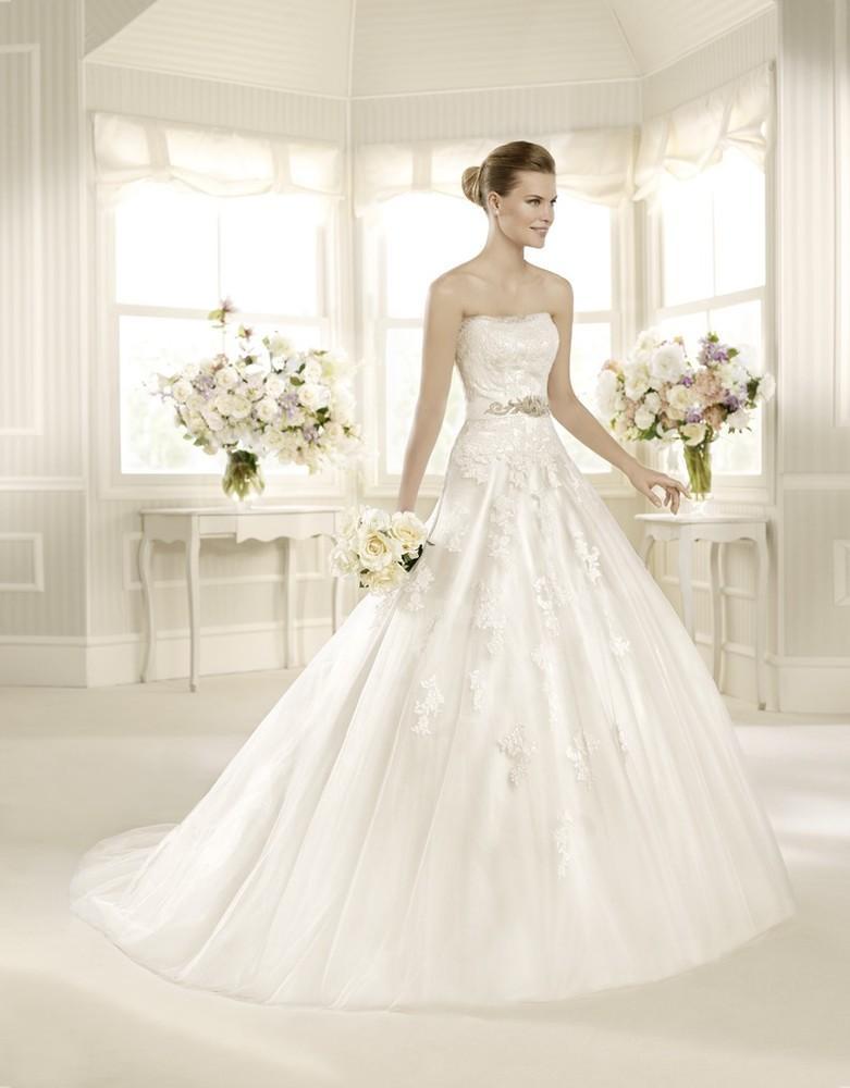 Брендовое свадебное платье фото №1