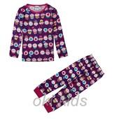 Пижама для девочки, с длинным рукавом. Кексик.