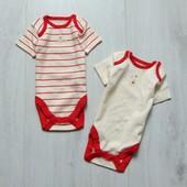 Новый комплект из 2-х бодиков с коротким рукавом для модницы или модника. Disney. Размер 3-6 месяцев