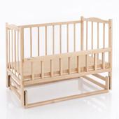 Кроватка деревянная КФ №4