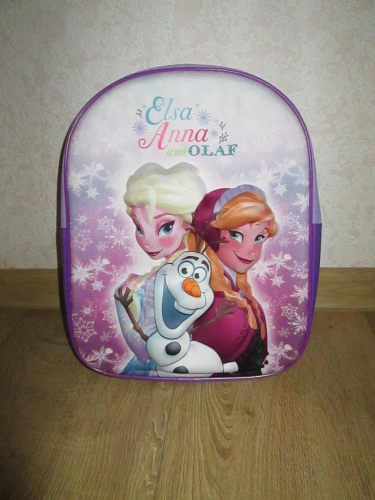 Детский 3D рюкзак с Анной и Эльзой Холодное сердце фото №1
