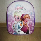Детский 3D рюкзак с Анной и Эльзой Холодное сердце