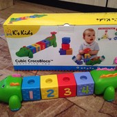 Кубики крокодил Крокоблоко K's Kids
