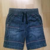 Фирменные джинсовые шорты 1,5-2 года