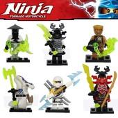 Minifigures Decool,  Нинзя, Ninja, Нинзяго минифигурки совместимые с Lego