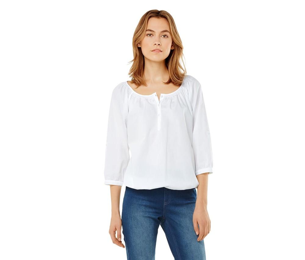 Модная хлопковая блузка тсм чибо. xl фото №1