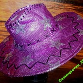 Карнавальная очень эффектная шляпа цена снижена