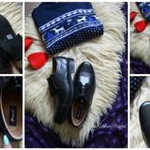 Новые кожаные мужские туфли, р-р 46