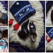Новые кожаные ботинки-челси, р-р 43
