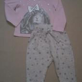Набор реглан Babies+ Спортивные штаны George 12-18 мес