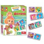 Фикси игры Домино vt 2107-01 Vladi Toys