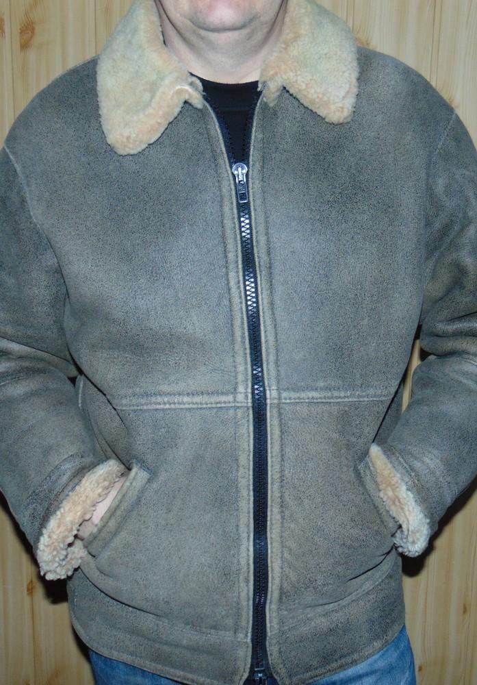 Стильная фирменная курточка зимняя дубленка Vero Cuoio Italy.хл . фото №1