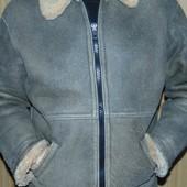 Стильная фирменная курточка зимняя дубленка Vero Cuoio Italy.хл .