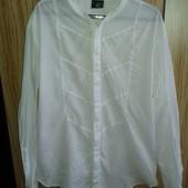 Шикарная мужская дизайнеркая белая рубашка от JustCavalli,p.XL