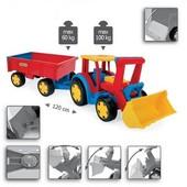 Wader Gigant Truck Трактор с прицепом и ковшом Арт: 66300