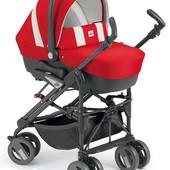 Практичная детская универсальная коляска 3 в 1 Cam  Combi Tris