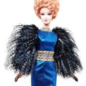 коллекционная кукла Barbie collector the Hunger Games Effie Trinket барби эфи голодные игры шарнирна
