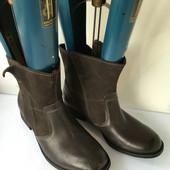 Женские кожаные ботинки  Clarks 37, 38, 5, 39, 39, 5, 40, 41, 42