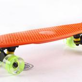 Яркий Пенни борд, Penny Board - Светящиеся колеса