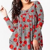 Размеры 50-54 Стильные молодежные женские платья