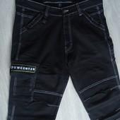 Новые черные джинсы BouwCenter Jeans Германия, 36/32